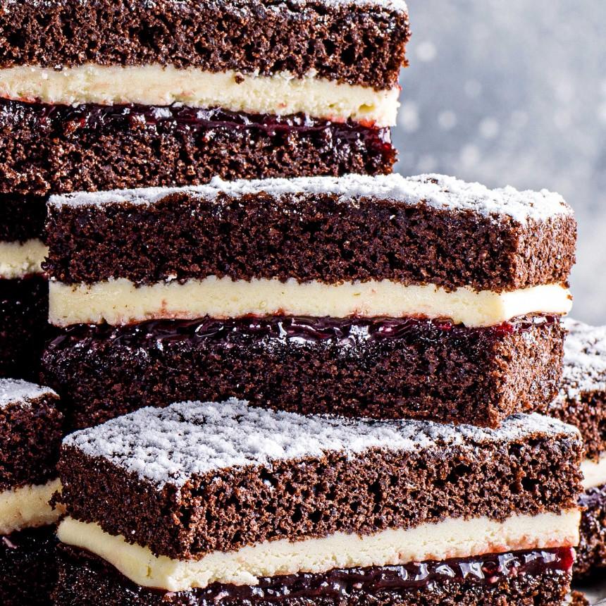 Chocolate & Cherry Cake - Image
