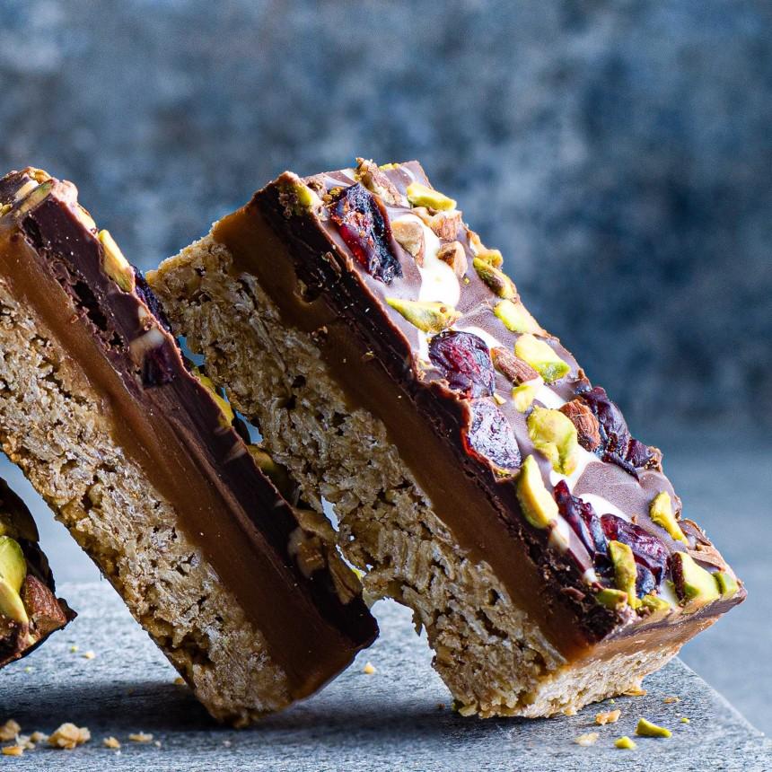 Caramel Chocolate Flapjack - Image