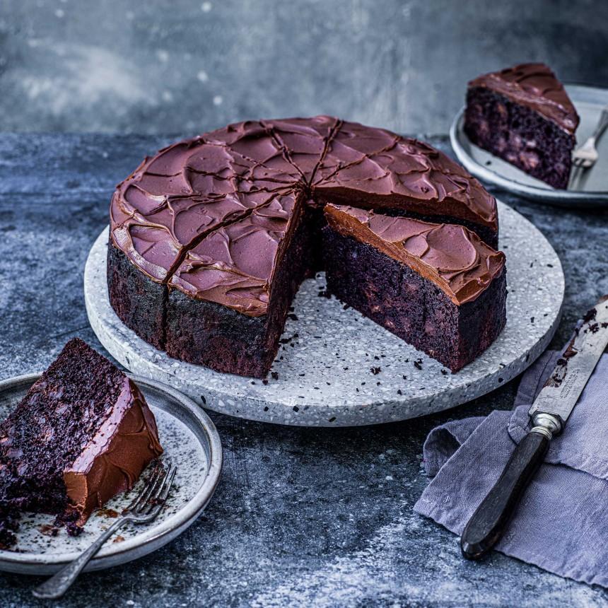 Chocolate Truffle Cake - Image