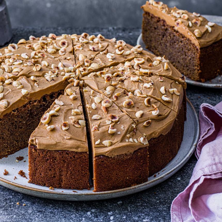 Coffee& Hazelnut Cake - Image