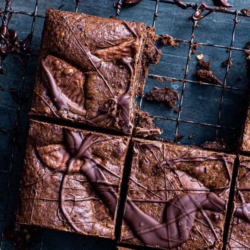 Gluten Free Chocolate& Orange Brownie - Image