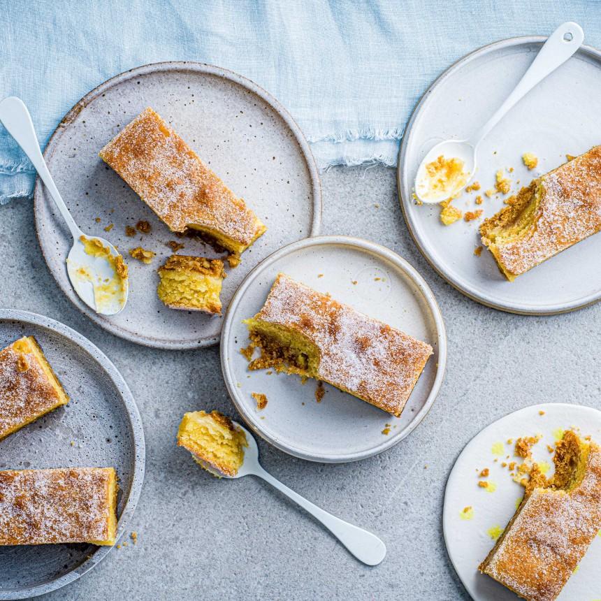 Gluten Free Lemon & Ginger Slice - Image