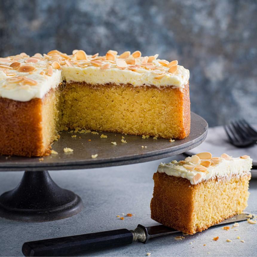 Lemon& Polenta Cake - Image