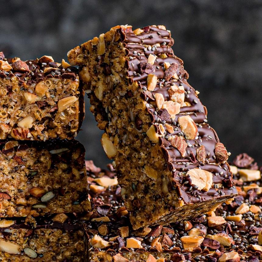 Gluten Free& Vegan Nutty Boost Bar - Image