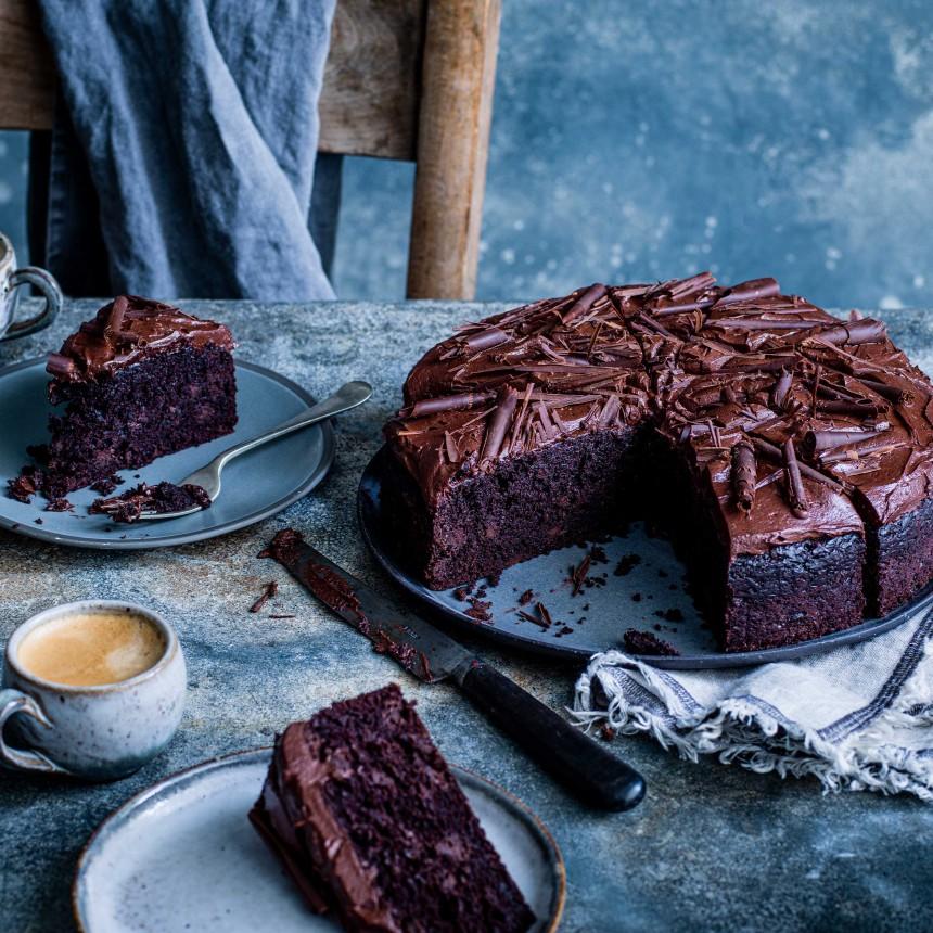 Vegan Chocolate Cake - Image
