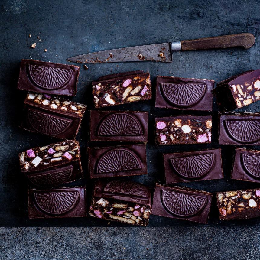 Vegan Chocolate Orange Rocky Road - Image