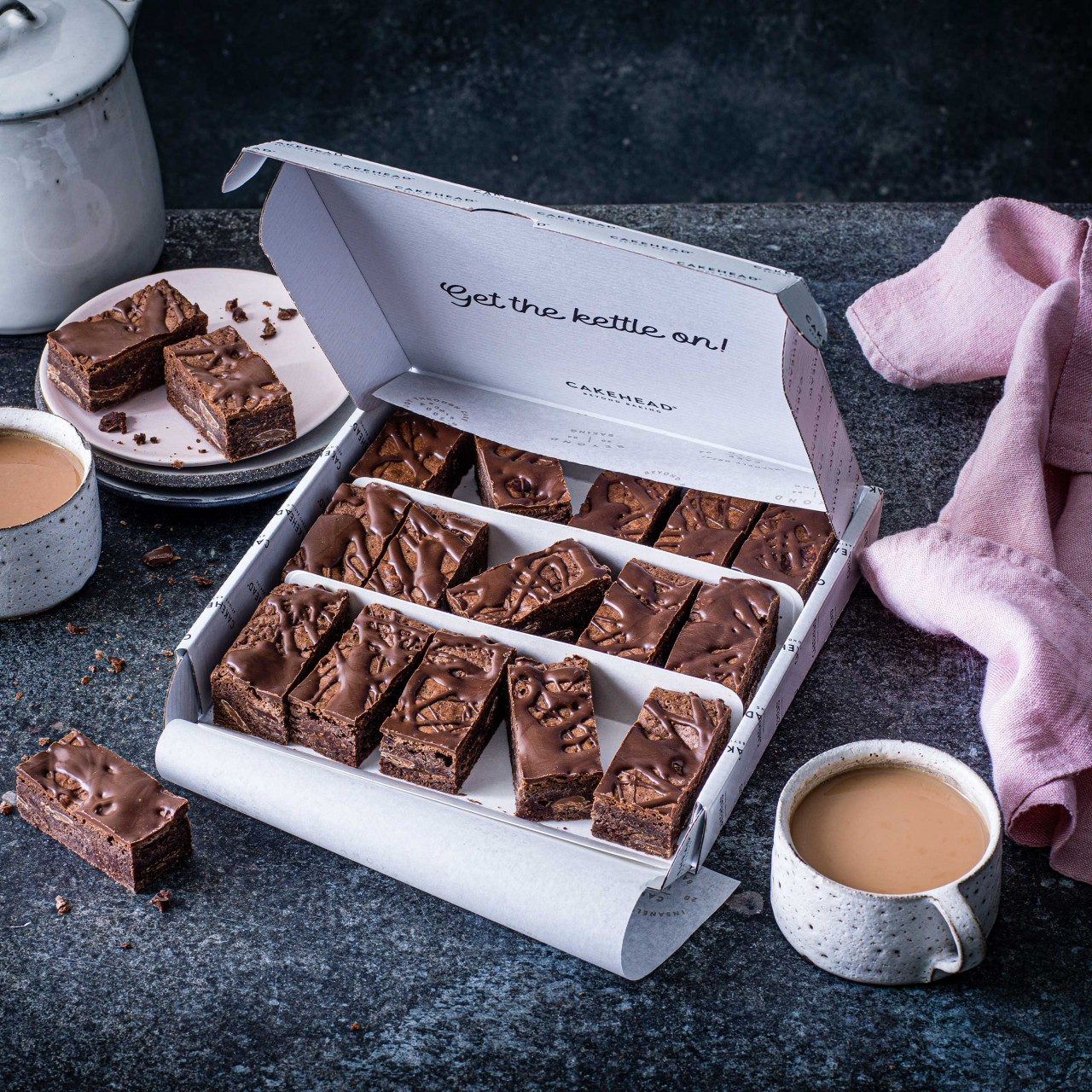 Double Chocolate Brownie Box - Image