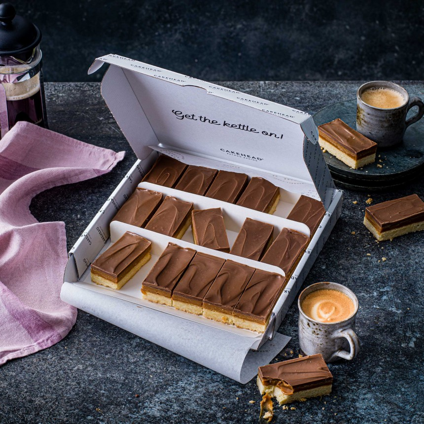 Caramel Shortbread Box - Image