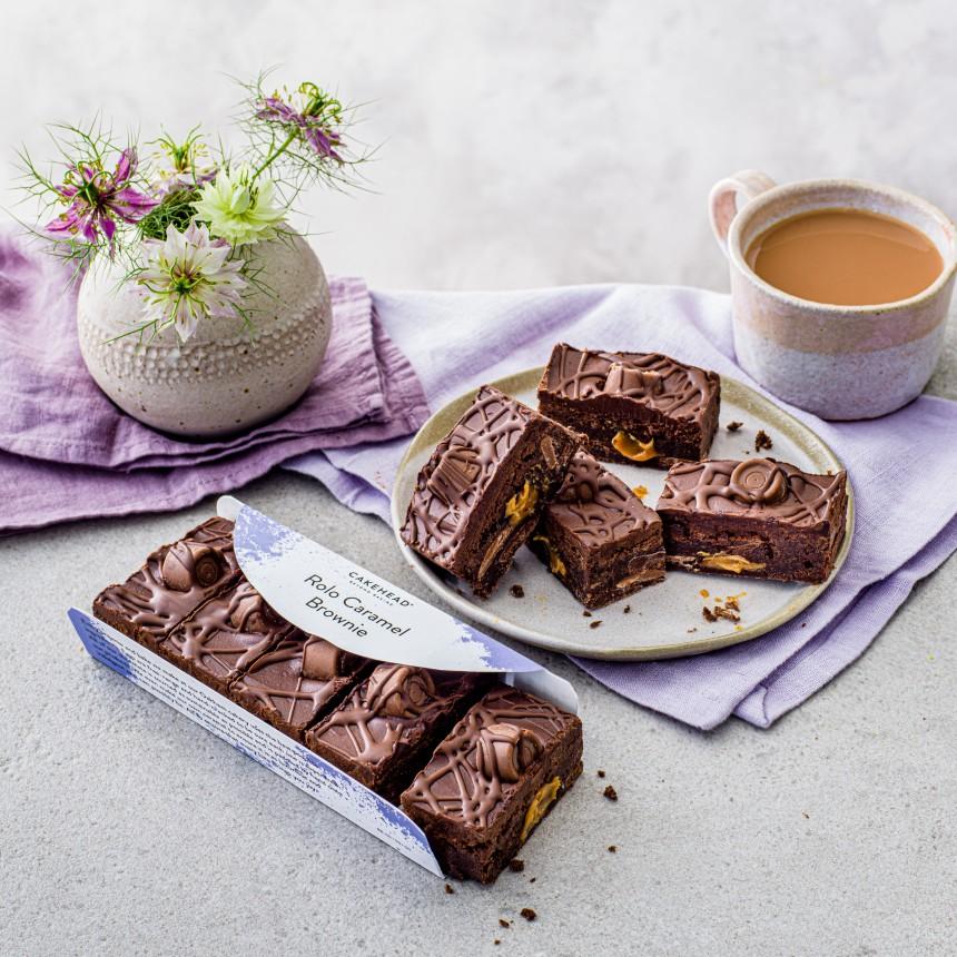 Caramel Rolo Brownie - Image