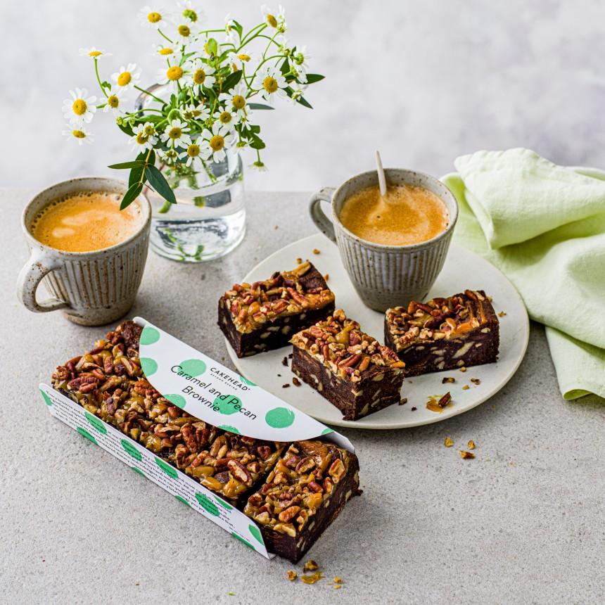 Pecan & Caramel Brownie - Image